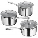 Stellar 7000 3 Piece Induction Draining Pan Set  S7A1D