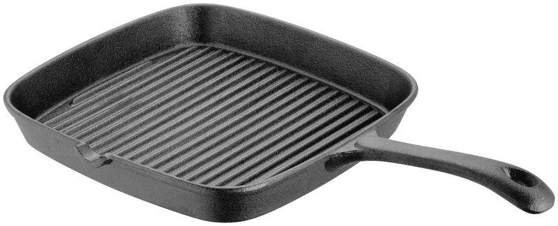 judge cast iron 22cm square grill pan jst20. Black Bedroom Furniture Sets. Home Design Ideas